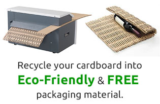Recycle-cardboard-waste-into-packaging-material