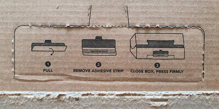 Instruction-Resealable-Cardboard-Packaging