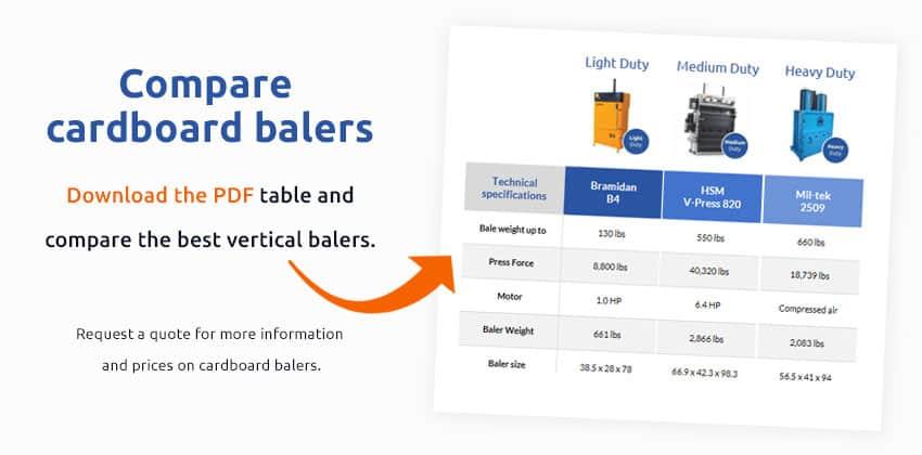cardboard-baler-comparison-table-pdf
