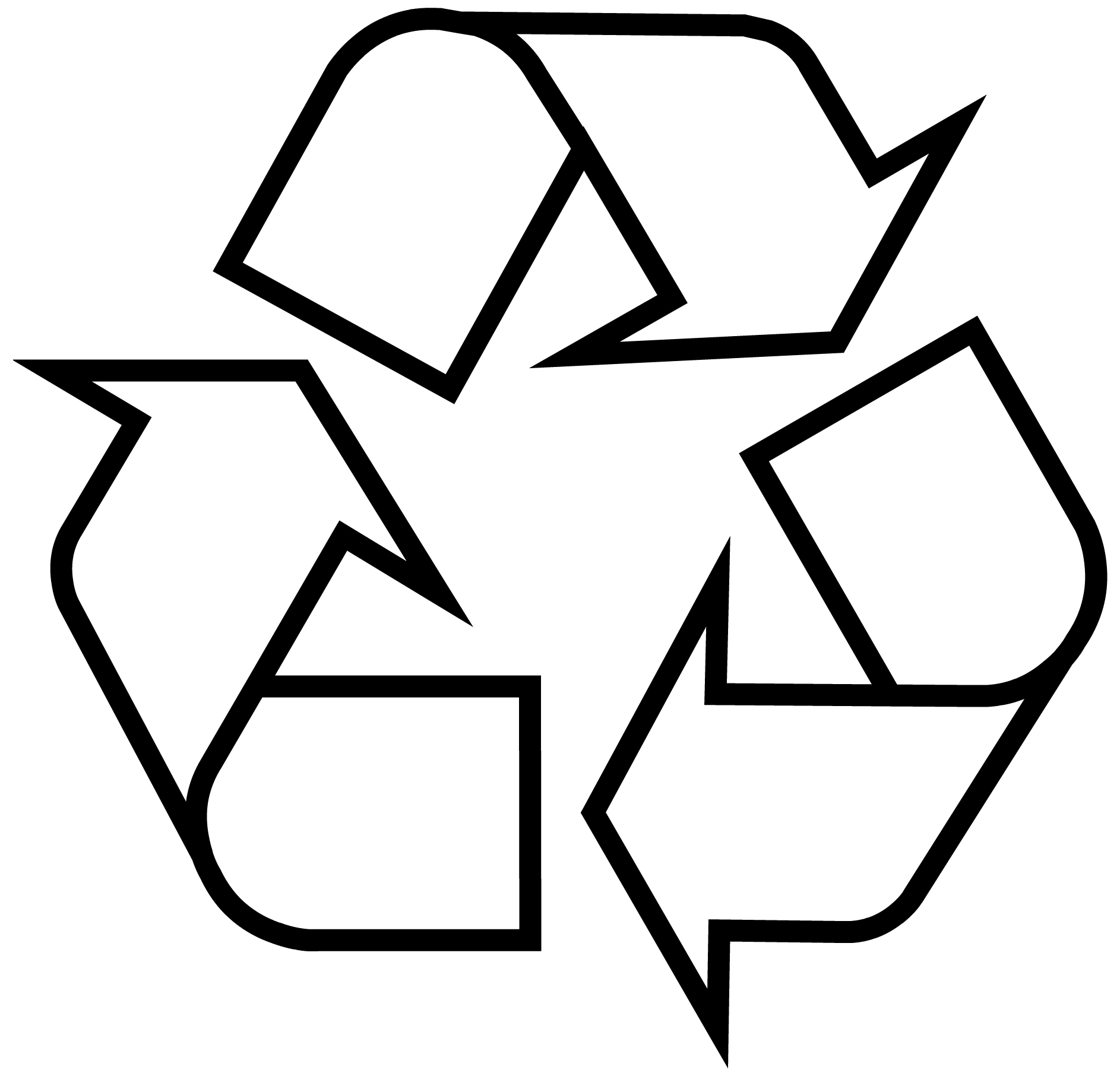 Download recycling symbol the original recycle logo download file format biocorpaavc