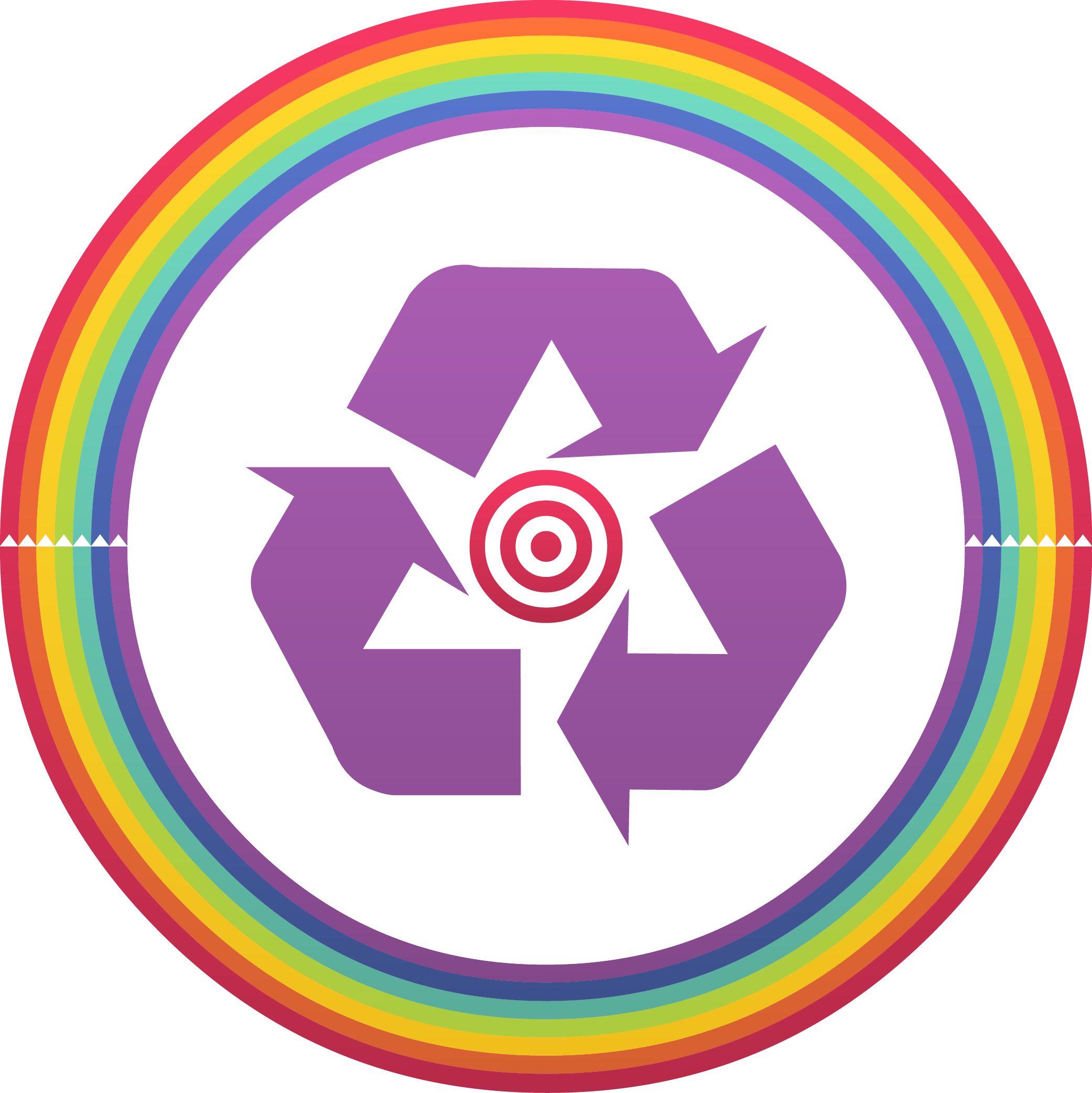 Download zero waste symbol or logo by recycling zero waste symbol no text png buycottarizona